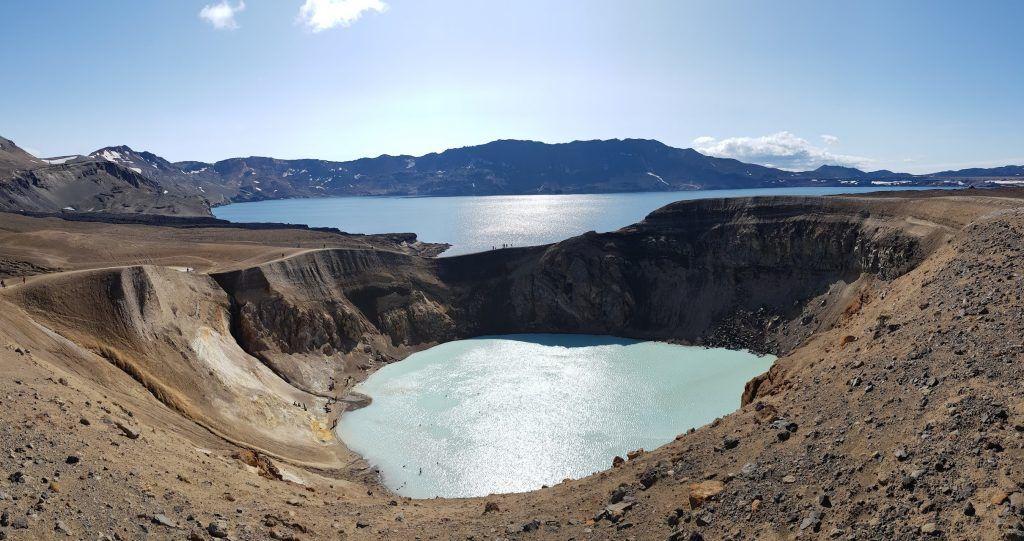 Askja - a caldera complex - photo Tour guide in Iceland 08.2019