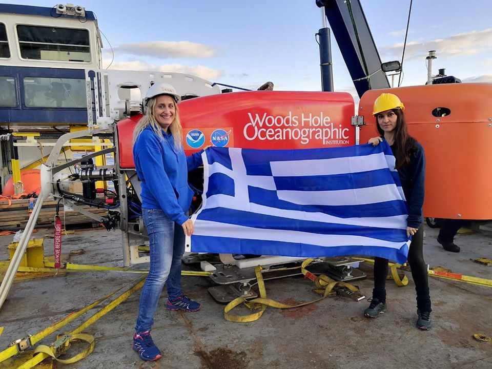 NASA PSTAR cruise 19-27.11.2019 - Evi Nomikou and Voula Polymen for the Greek participation