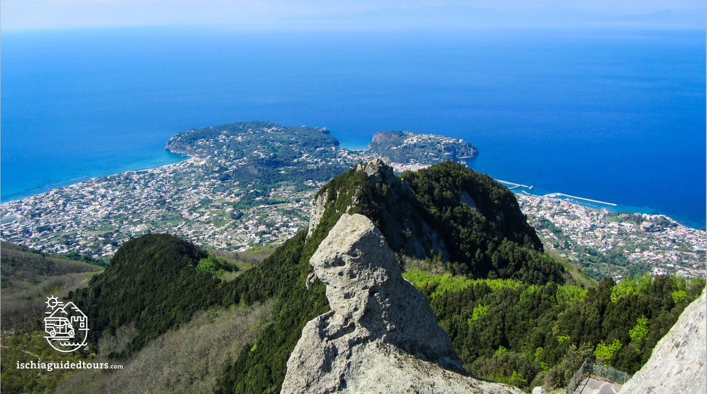 Ischia - from the summit of Monte Epomeo - photo ischia guided tours