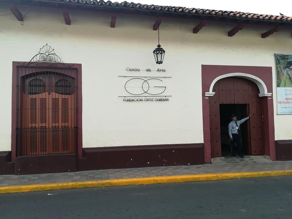 Centro de Arte Fundation Ortiz Guardian in Léon - photo Ced Nordman