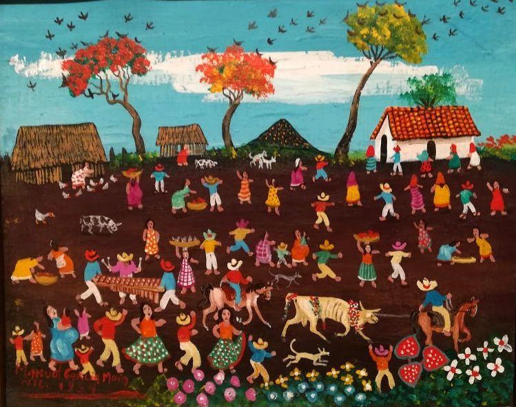 Masaya, popular festival - by Manuel Garcia Moia - Centro de Arte Fundation Ortiz Guardian in Léon - photo Ced Nordman
