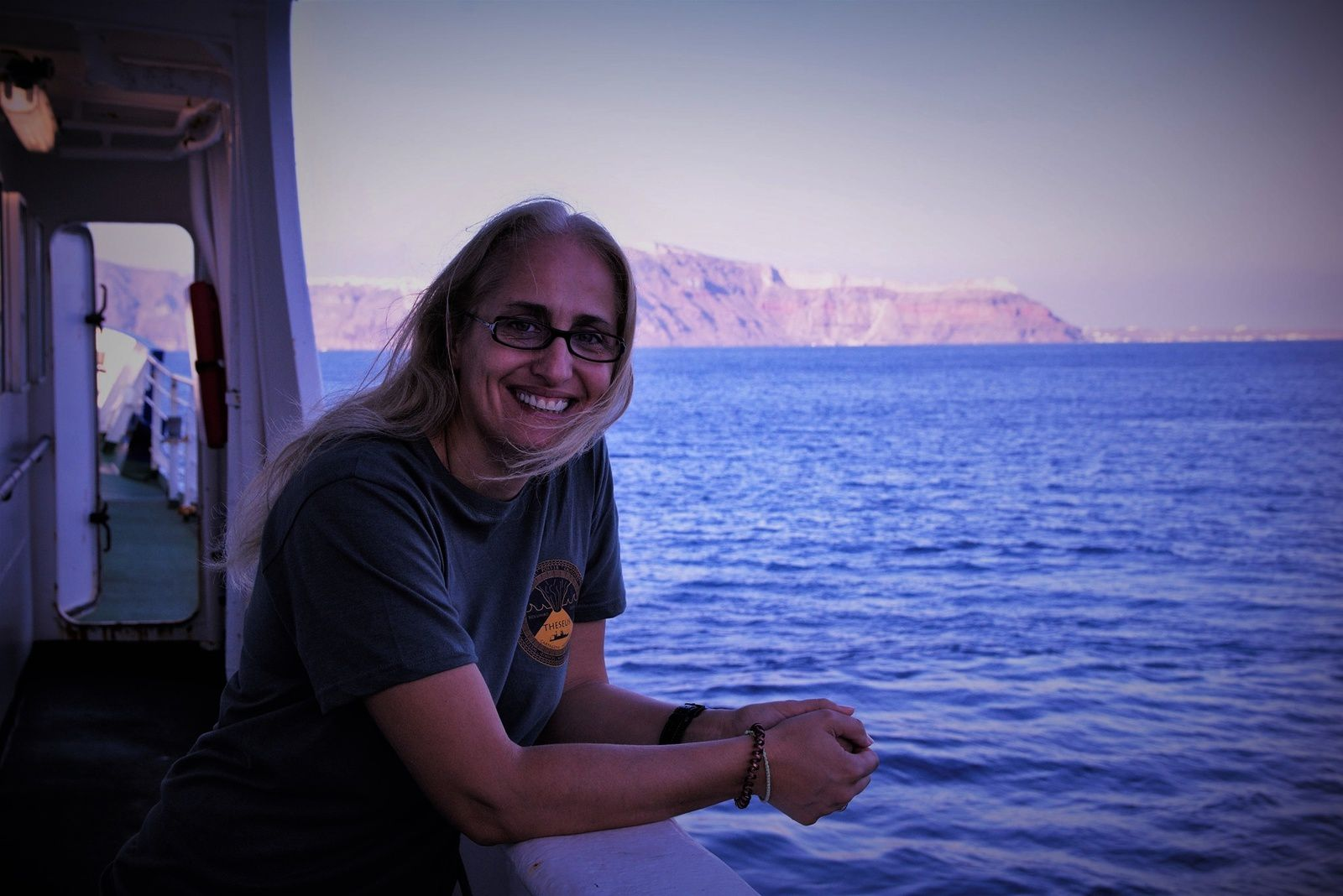 Santorini - a special thanks to Dr. Evi Nomikou, who helped me prepare for my trip to Santorini, despite his hard work. - photo © Evi Nomikou