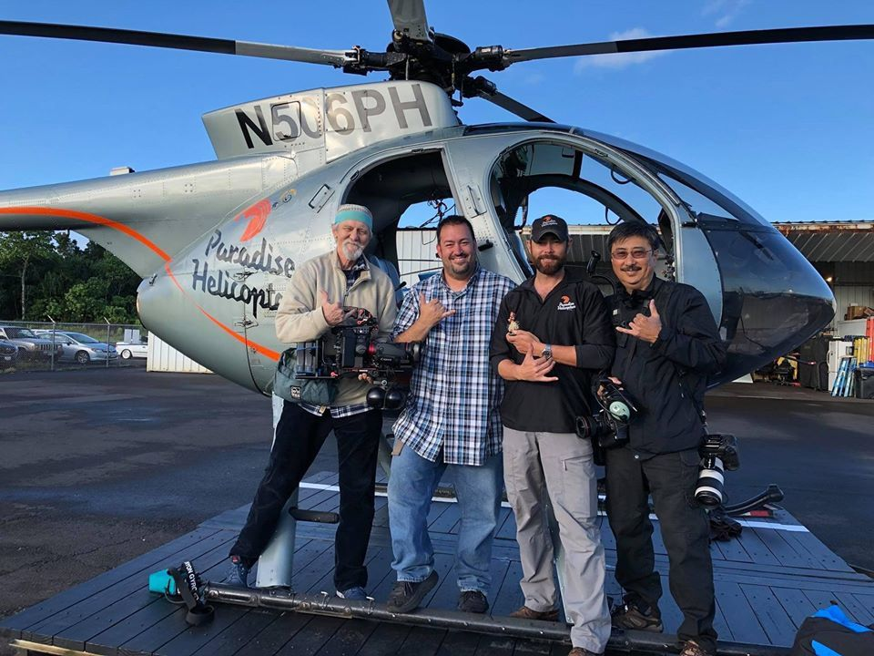Hawaii - © Paradise Helicopters, with Mick Kalber, Bruce Omori and the pilots ... what a team!