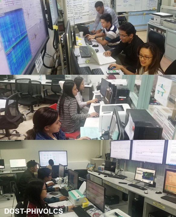 Taal - monitoring by Dost Phivolcs