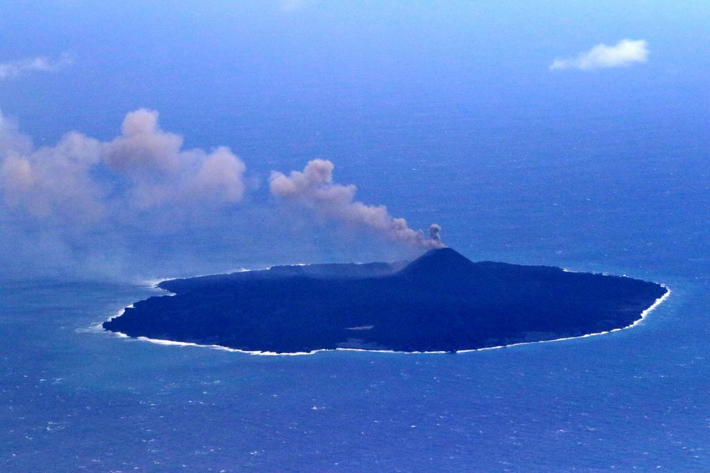 Nishinoshima - photo Japan Coast Guards 31.12.2019
