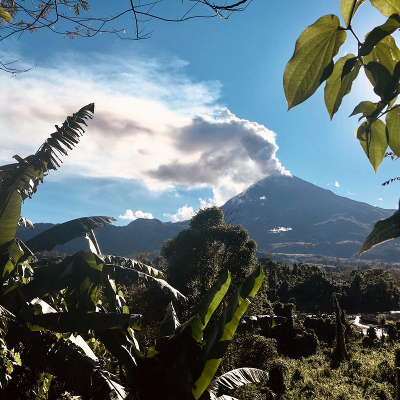 Bagana / PNG - photo courtesy of Brendan McCormick Kilbride (University of Manchester) via GVP / 18.09.2019