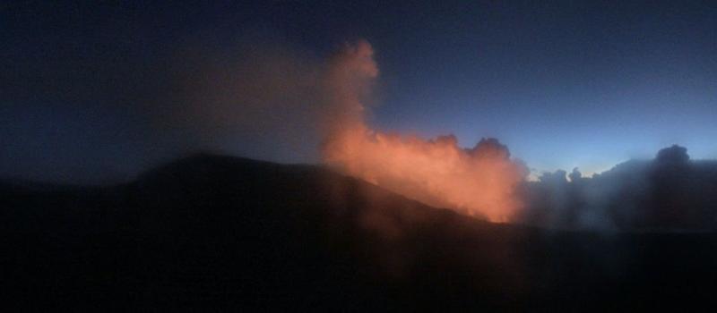 Piton de La Fournaise - 06.04.2020 / 5h47 - HD camera OVPF IRT