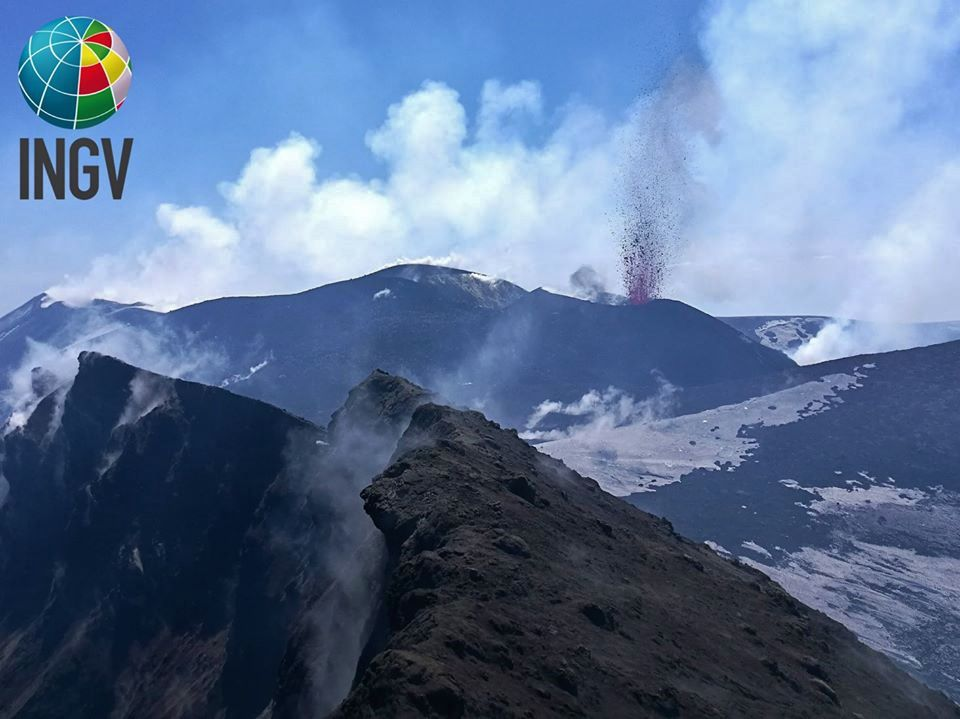 Etna VOR - 10.04.2020 - photo Francesco Ciancitto - INGV OE / INGVvulcani