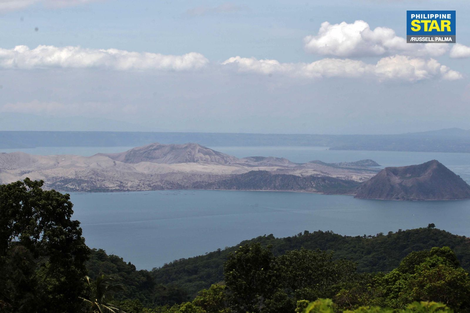 Taal - photo Philippines Star 23.04.2020