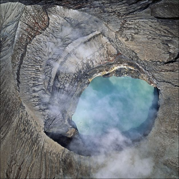 "Rincon de La Vieja Crater - photo © Bernhard Edmaier, via ""Bilder von der Erde"" [Images of the Earth]"