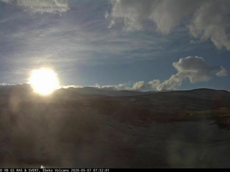 Ebeko - 07.05.2020 / 07h52  - webcam KVERT