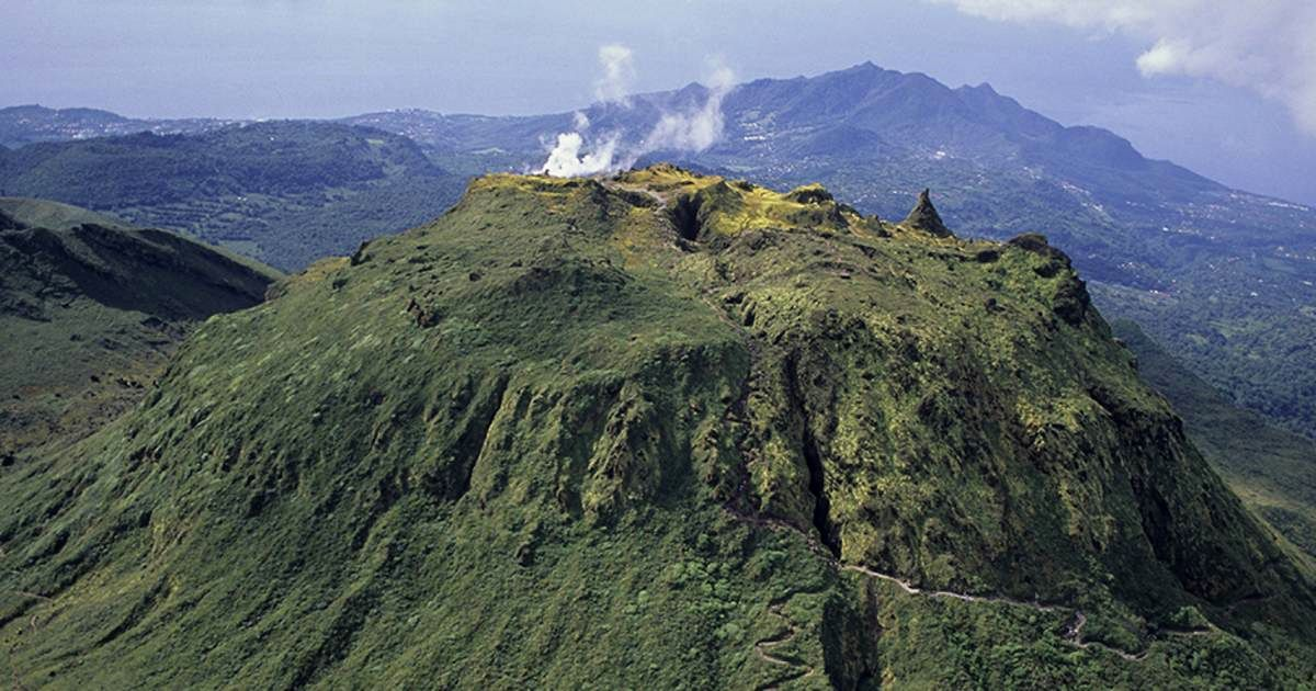 La Soufrière de La Guadeloupe - photo France.fr