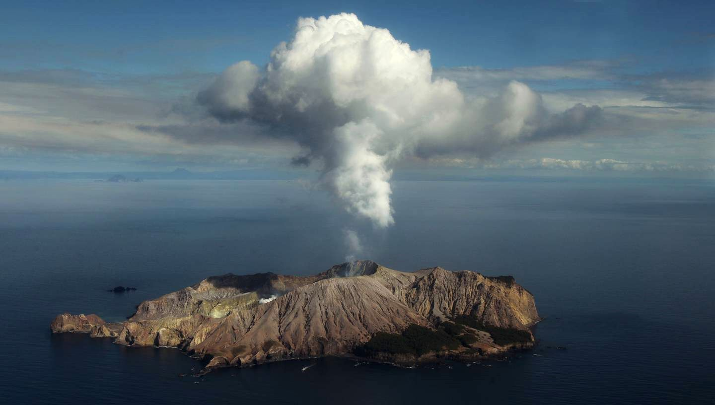 Whakaari / White Island - photo NZ Herald