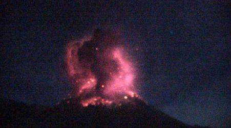 Nevados de Chillan  - 06.06.2020 / 04h17 loc. - Doc. OVDAS