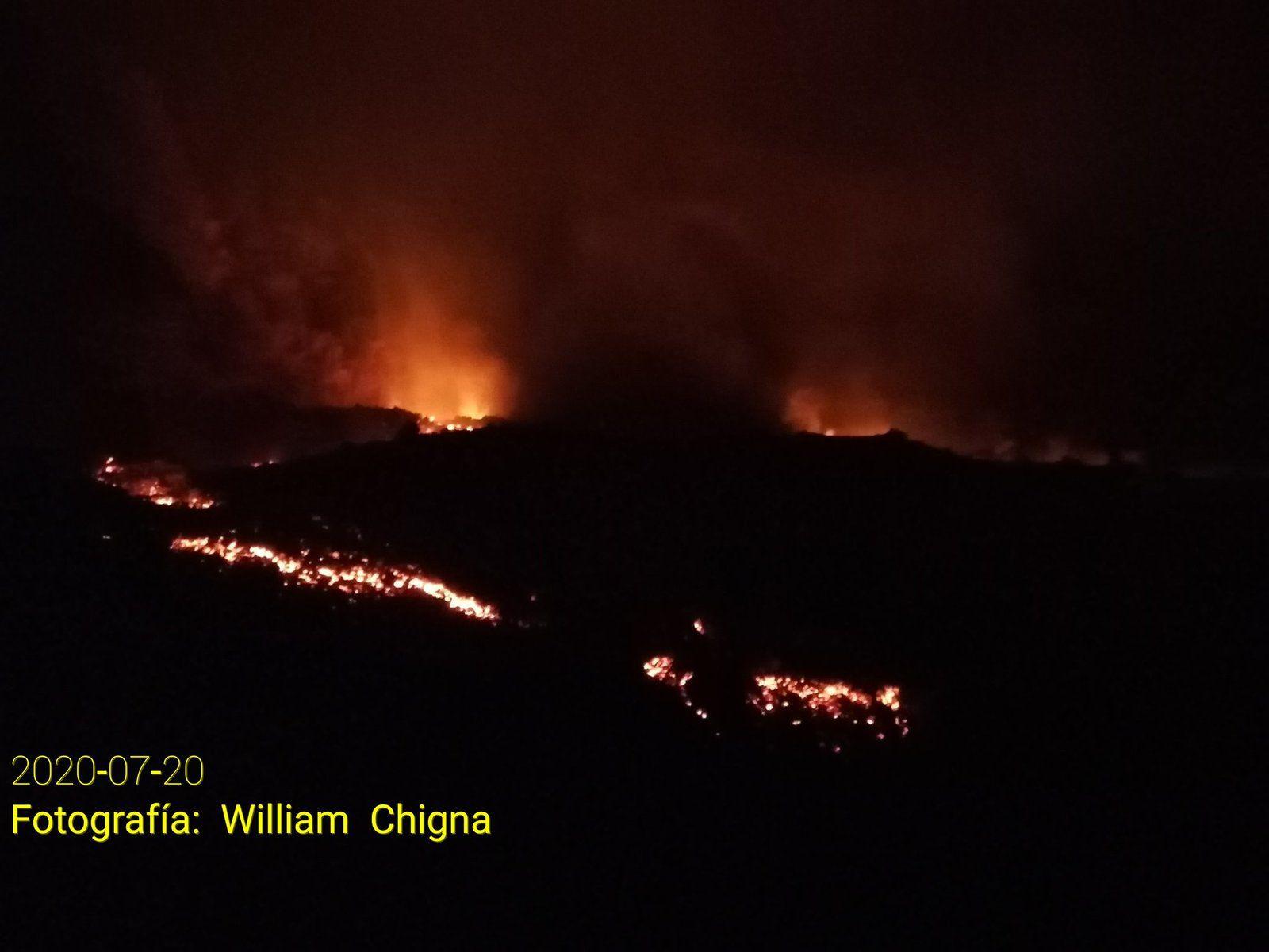 Pacaya - coulées de lave - photos William Chigna 20.07.2020