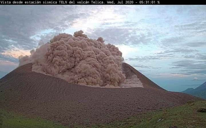 Telica - 30.07.2020 à 5h31 - Webcam Sinapred