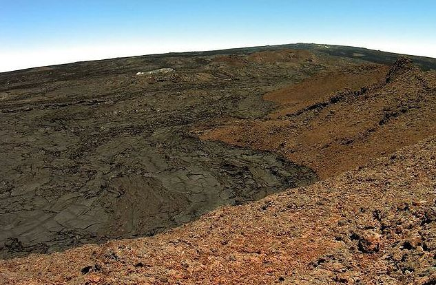 Mauna Loa - la zone de rift sud-ouest - photo HVO