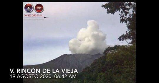 Rincon de La Vieja - 19.08.2020 / 6h42 - Doc. Ovsicori