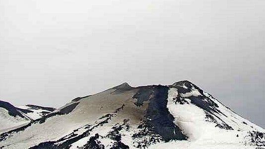 Nevados de Chillan - image d'archive / webcam Sernageomin portezuelo 01.08.2020