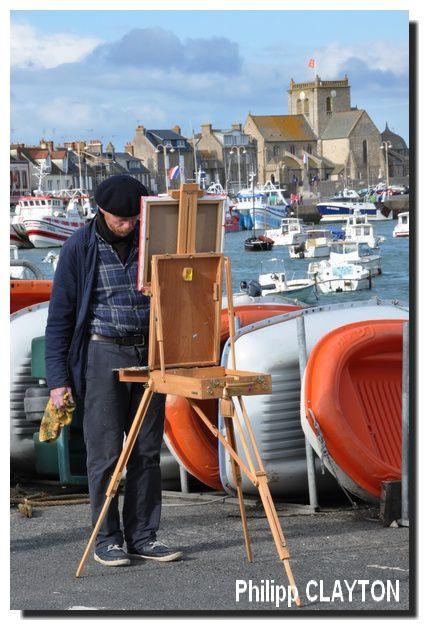 """Barfleur, """"le village fait galerie"""""""