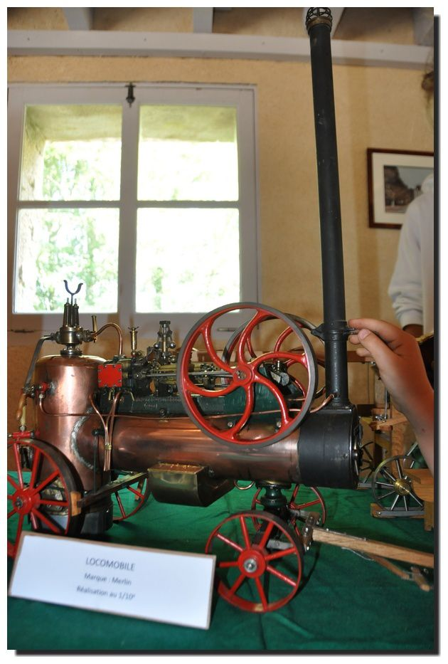 Carneville (2) : des chevaux ... vapeur