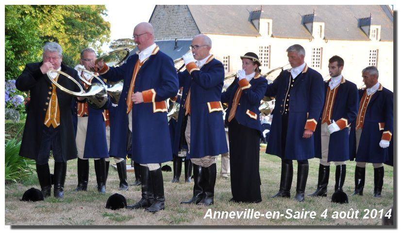 Anneville-en-Saire : Concert champêtre, Trompes Saint Hubert du Bocage