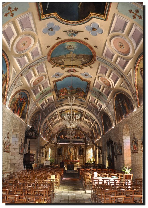 Montfarville: nouvel éclairage pour l'église