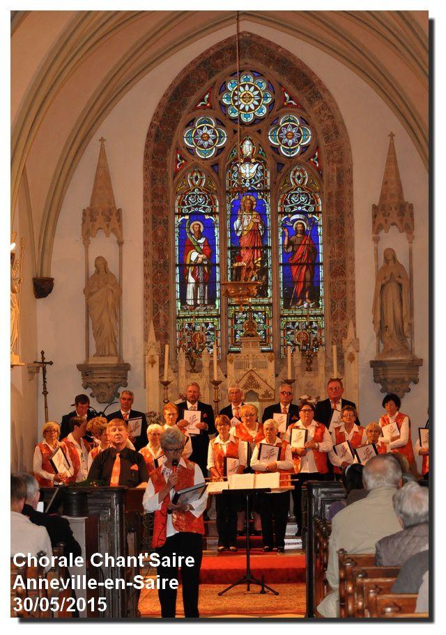 Anneville en Saire : récital de la chorale Chant'Saire