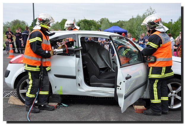 Pompiers du Val de Saire : portes ouvertes et démonstrations