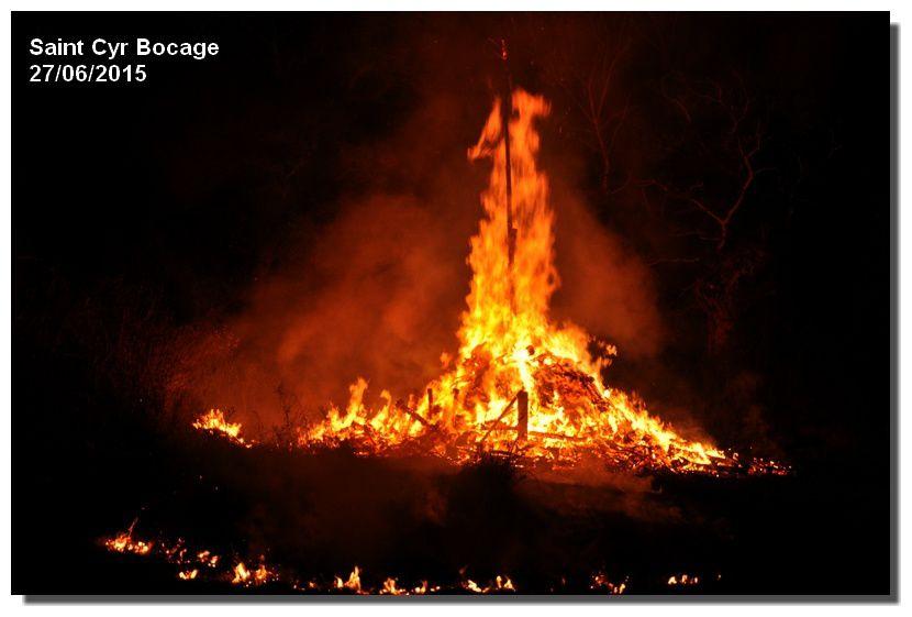 Feu de la Saint Jean, feu de la Saint Cyr