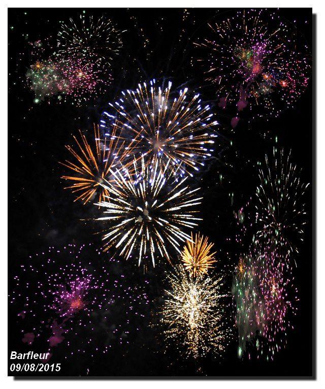 le clou des fêtes locales : le feu d'artifice