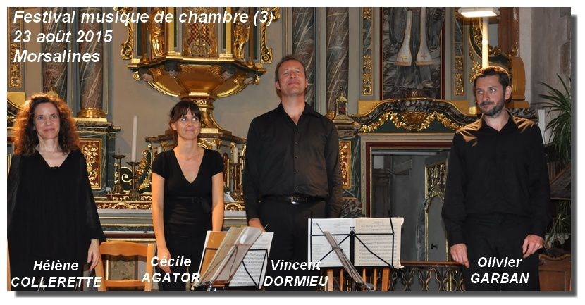 Morsalines : festival de musique de chambre
