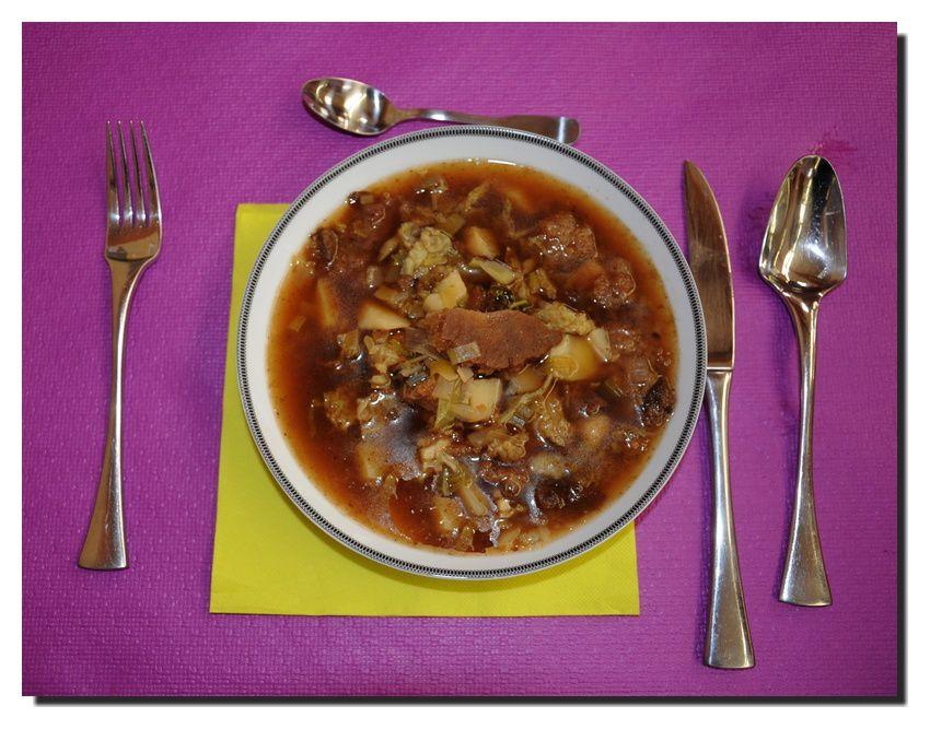 La soupe à la graisse, un plaisir simple de tcheu nous