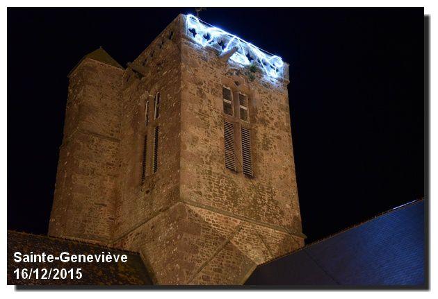 Sainte-Geneviève et son église en lumière