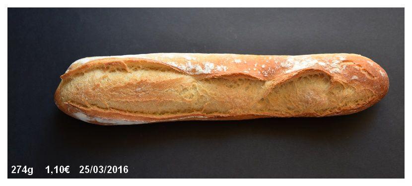 Une tradition, baguette dite de tradition française