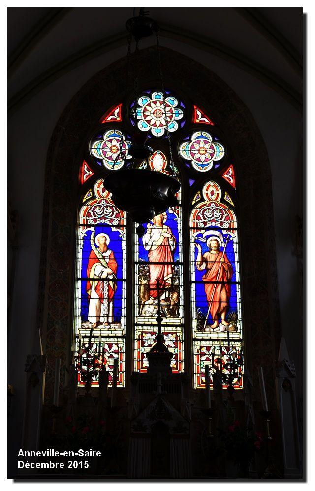 Anneville en Saire : l'église