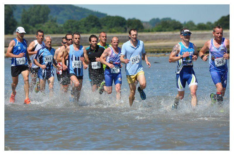 Saint Vaast la Hougue : Course du Run 2016 -Aller