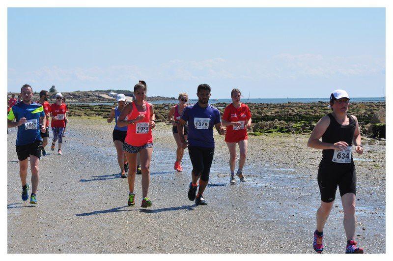 Saint Vaast la Hougue, course du Run retour