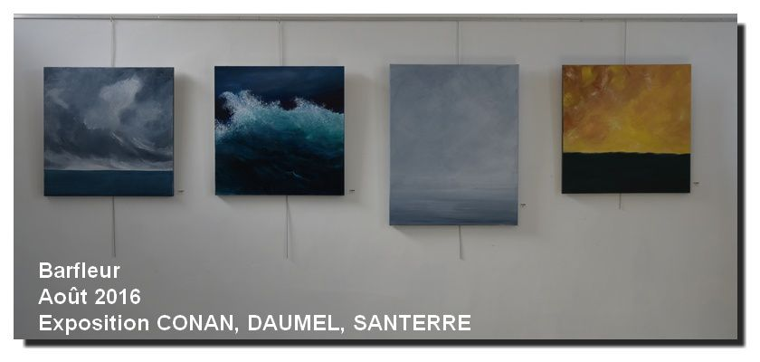 Barfleur, Exposition Gilbert CONAN