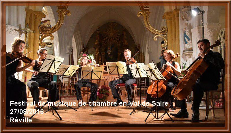 Réville : Festival de musique de chambre