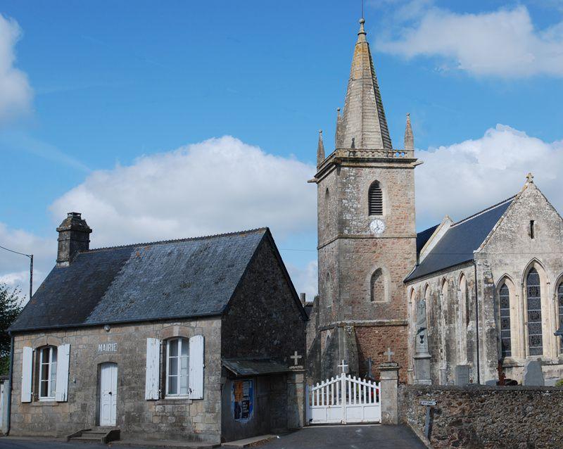 Ancienne mairiie de Teurthéville-Bocage