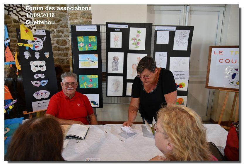 Quettehou : forum des associations