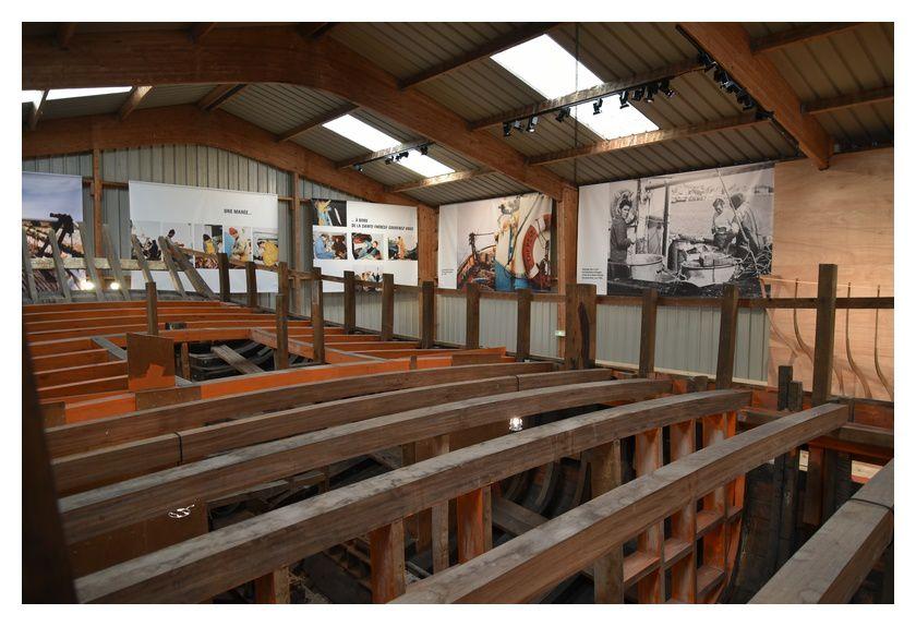 tatihou, exposition :Sainte Thérèse Souvenez-vous construit en 1948
