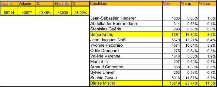 Val de Saire : Elections législatives