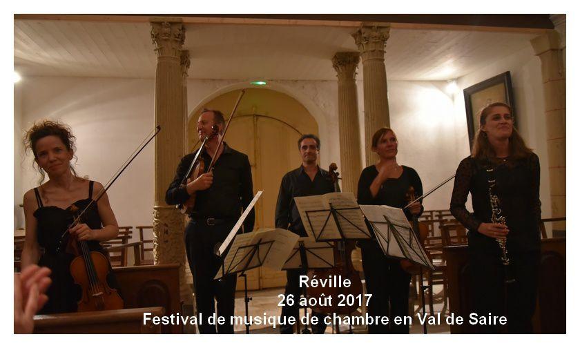 Réville : festival de musique de chambre en Val de Saire