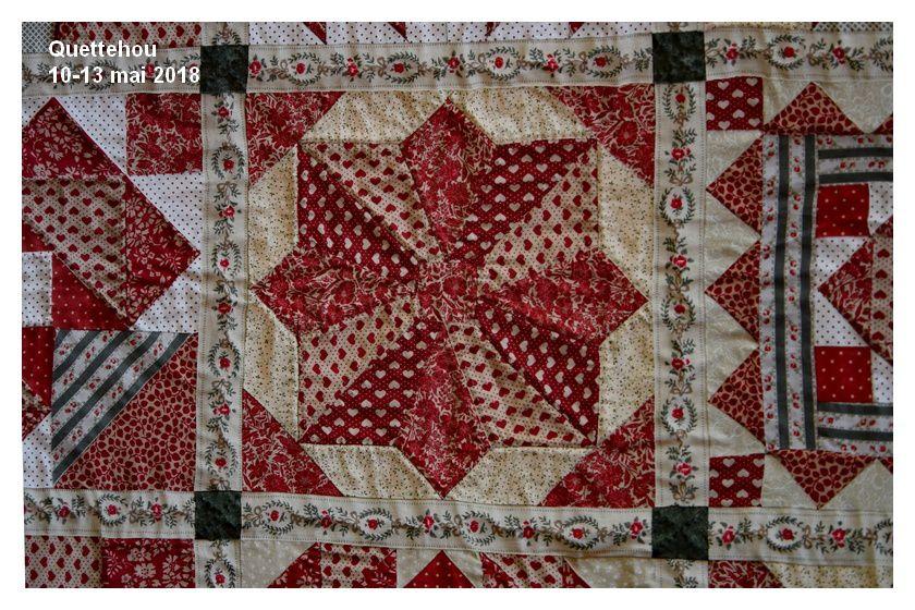 Quettehou : exposition patchwork (1/2)