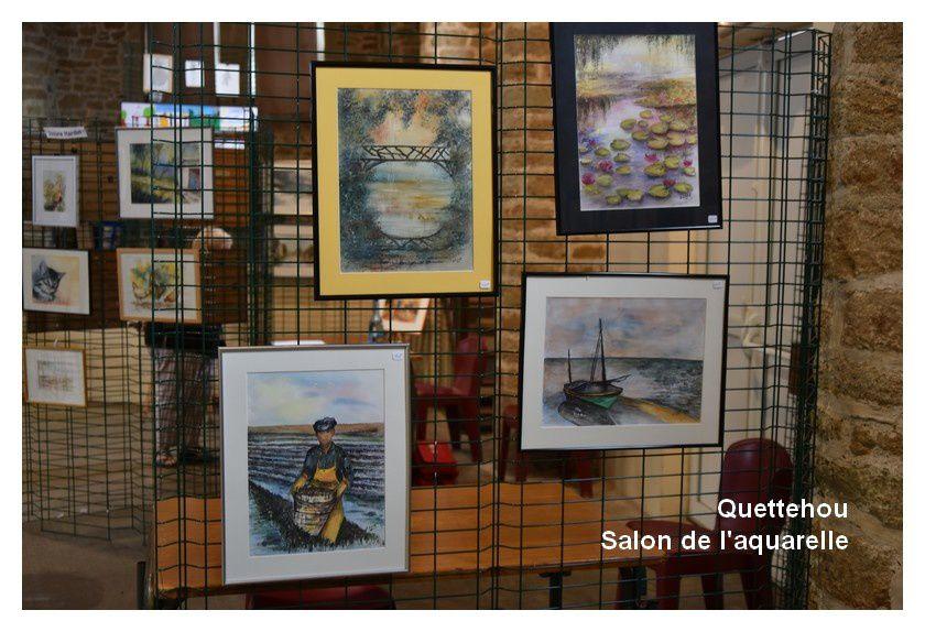 Quettehou : salon de l'aquarelle
