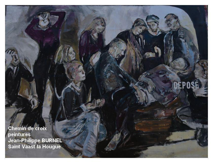 Saint Vaast la Hougue, Rideauville : exposition Jean-Philippe BURNEL