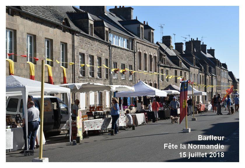 Barfleur fête la Normandie