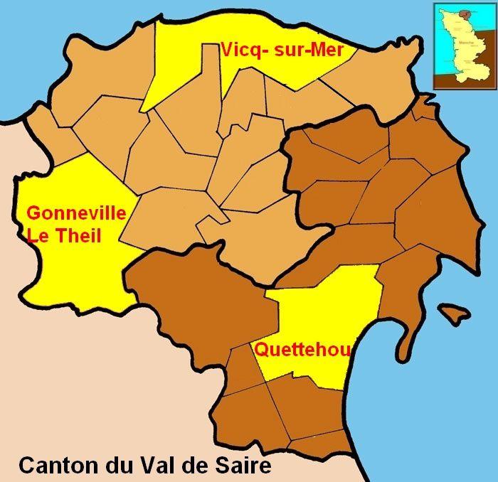 Une commune nouvelle Quettehou-Morsalines